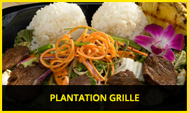 We had lunch at the Plantation Grille, photo from their web site