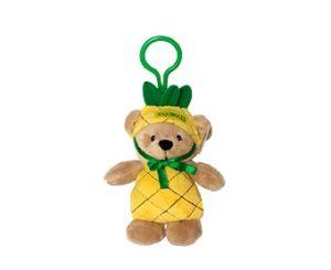 Hoodie Bear Key Clip