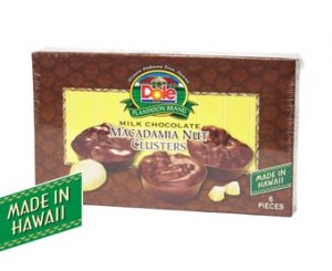 Milk Chocolate Macadamia Nut Clusters 2 oz