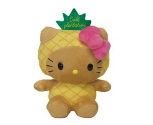 Hello Kitty Pineapple Head