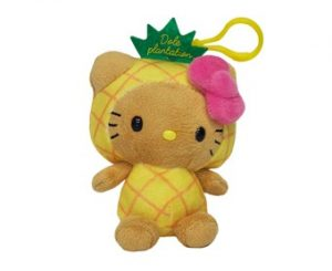 Hello Kitty Pineapple Head w clip