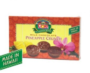 Milk Chocolate Pineapple Crunch 2 oz