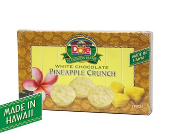 White Chocolate Pineapple Crunch 2 oz