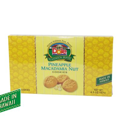 Pineapple Macadamia Nut Cookies