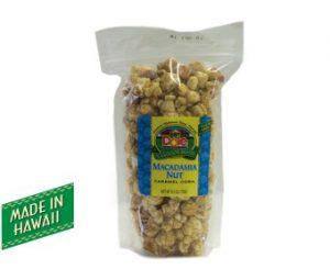 Macadamia Nut Caramel Corn