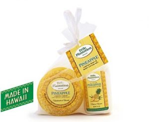 Pine Loofah Lotion Set