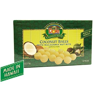 Mac Nut Coconut Ball Box