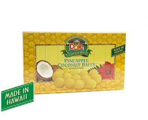 Pineapple Coconut Ball Box