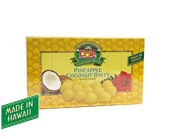 Pineapple Coconut Ball Box